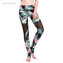 Women Mesh Flower Legging Fitness Workout Floral Legging Stretch Sexy Pants Casual Pencil Trousers Gothic Harajuku Leggings(China)