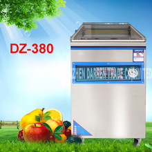 DZ-380 commercial vacuum packing machine stainless steel matte Sealing strip width 8mm family expenses vacuum sealer Tea cooked