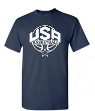 Quality Print New Summer Style Cotton Usa Men's Basketballer 2016 Front Only Men's Tee Shirt 1445