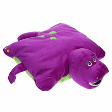 2 size available Barney dinosaur pillow plush toys doll(China)