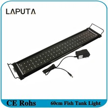 1pcs 2016 New 30cm 40cm 60cm 90cm LED Aquarium Light SMD LEDs Blue/White Lamp for Fish Tank Reef Coral Led Grow Light 2 Mode