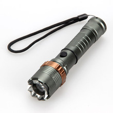 XML-T6 LED Lamp Flashlight 5 Modes Zoomable Focus Torch 2200 Lumens Light