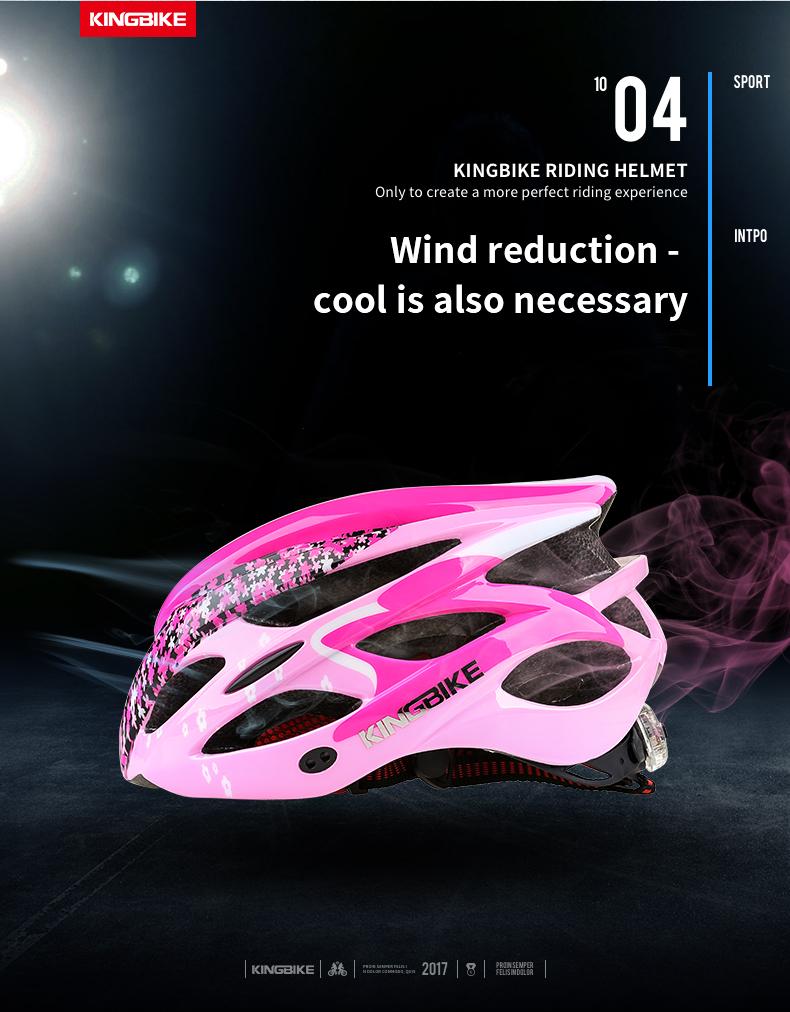 Cycling Helmet Pink Woman Road Bicycle Helmet-4