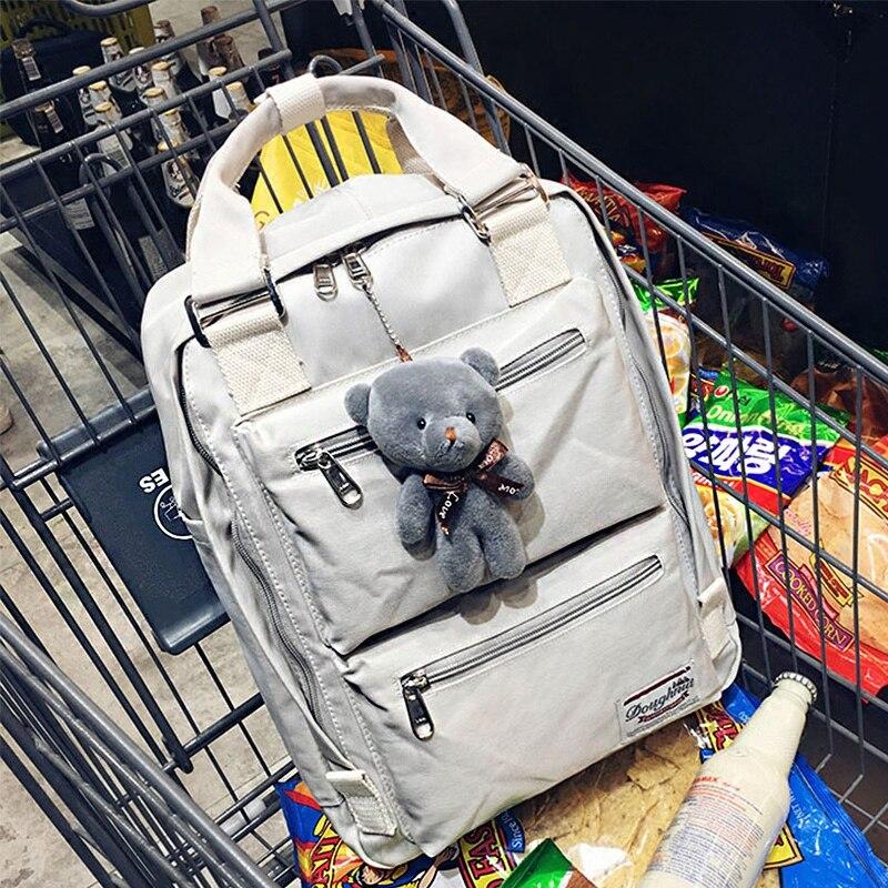 Oxford Schoolbag Backpack Women Big Bags Nylon Waterproof Harajuku Backpack Girls School Bagpack Mochila Feminina bolsa Satchel<br>