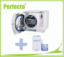 18L Class B Vacuum Steam Dental Autoclave Sterilizer and Water Distiller FREE SHIPPING To US