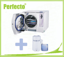 18L Class B Vacuum Steam Dental Autoclave Sterilizer and Water Distiller FREE SHIPPING To US(China)