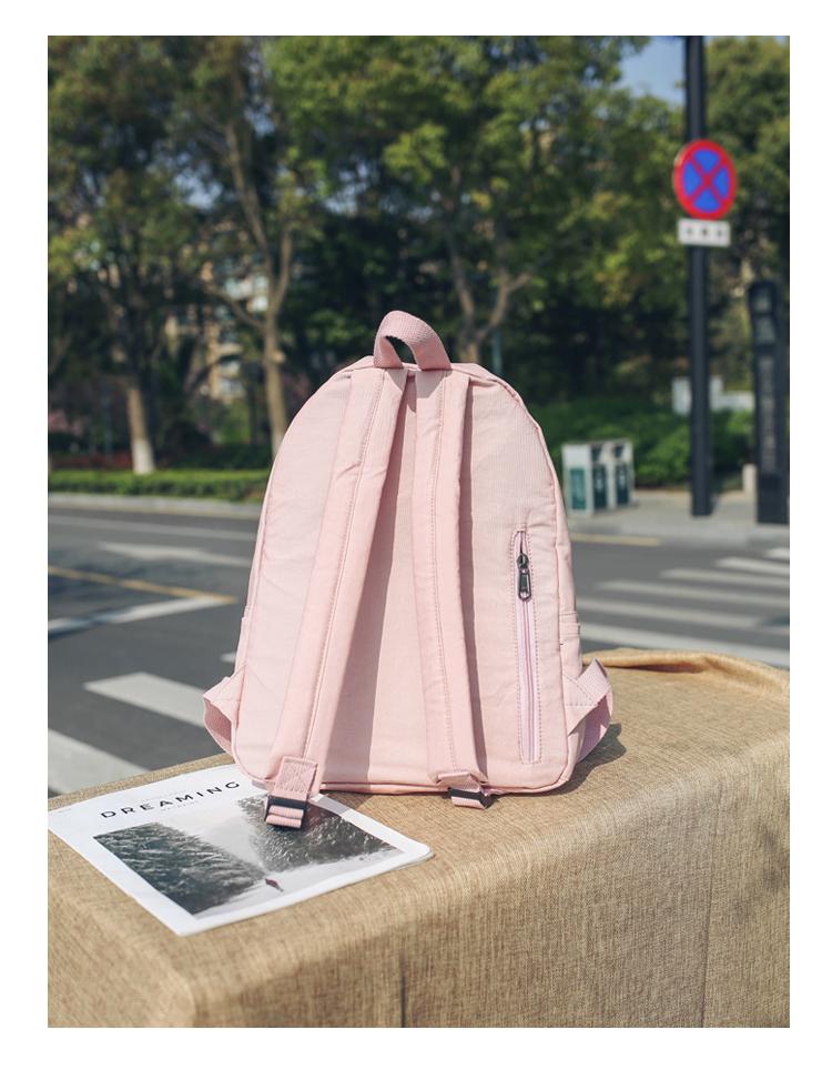 Menghuo High Quality Women Canvas Backpack Teenage Girls Leisure Backpack Bag Vintage Stylish Female School Bag Bookbag Mochilas (22)