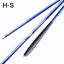 Professional Stream Fishing Rod Carbon Fiber Telescopic Fishing pole Ultra Light Ultrafine Carp Fishing Hand Pole 5.4 6.3m 7.2m(China)