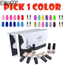 Elite99 2016 New Cheapest 178 Best Popular Colored Gel Nail Polish Easy Soak Off Nail Gel for Nail Art Choose 1 Nail Lacquer(China)