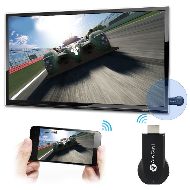 AnyCast M2 Plus Airplay 1080P Wireless WiFi Display TV Dongle Receiver HDMI TV Stick DLNA Miracast for Android Tablet PC