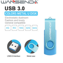 Fashion WSD Colorful USB Flash Drive Pen Drive 128GB USB 3.0 USB Flash Pendrive U Disk Memory Stick 32GB 64GB Storage Device