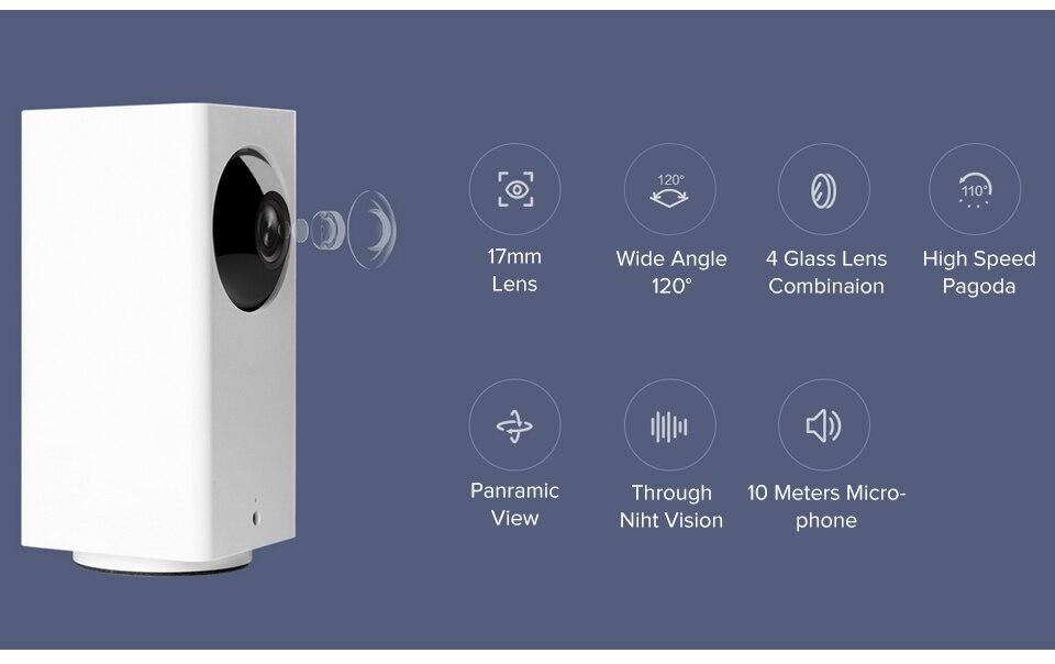 Original Xiaomi Mijia IP Camera Dafang Smart Monitor 110 Degree 1080p HD Intelligent Security WIFI Night Vision For Mi Home App (9)