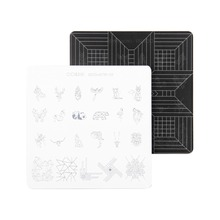CICI&SISI Stamp Stamping Image Konad Plate Print Nail Art Template DIY for Nail Stamping Plates Geometry Patterns Series(China)