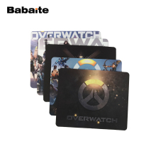 Babaite overwatch feature Characters Anti-Slip Mouse Pad 180x220x2mm 250x290x2mm mat Cool Design