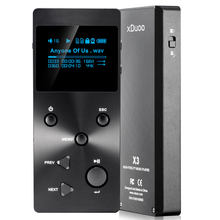 xDuoo X3 HIFI Level Digital Audio Music Player Lossless MP3 player With HD OLED Screen