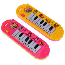Baby electronic piano toys early childhood education multi-function music smart piano plastic electronic Toy Musical Instrument(China)