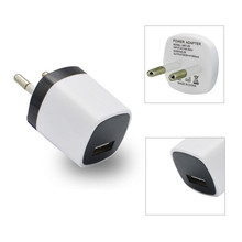 Hot Sale Mini USB Power Charger Adapter DC 5.0V 1A Wall Travel Charger for iPhone Samsung Tablets MP3 MP4 Player #ED505(China)