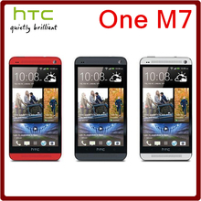 Original Unlocked HTC One M7 Quad Core 4.7 Inch 4MP 32GB ROM 2GB RAM 1080i 2300mAh Touchscreen Smartphone Hot selling(China)