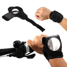 Bicycle Mirror Wrist Strap Bike Rear View Mirror Motorycle Armband Rearview WS