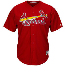 MLB Youth St. Louis Cardinals Baseball Scarlet Alternate Cool Base Jersey