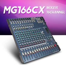 Yamaha Mixer Audio profesional Yamaha MG166C MG166CX 16 channel input Analog Mixer With Compression and Effects LN for Stage DJ