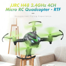 JJRC H48 Micro RC Drone RTF 6-Axis Gyro Screw Free Structure 2 Charging Modes Wireless Remote Control Quadcopters RC Helicopters(China)
