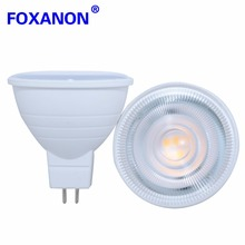 Foxanon 220V GU10 MR16 5W 7W LED Spotlight Lamp Bulb 2835SMD Chip Beam Angle 24/120 LED light For Night Downlight Table Lamp(China)