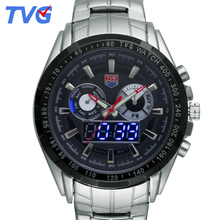 Military Quartz Watch Men Luxury Brand TVG 2017 Analog Sport Watch Men Waterproof Digital Wristwatch Relogio Masculino De Luxo