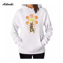Aikooki Dragon Ball Z Women Hoodies Sweatshirts Set Long Sleeve Fashion Harajuku Sweatshirt Mujer Cartoon Hoodies And Sweatshirt(China)