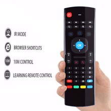New Hot MX3 Portable 2.4Ghz Wireless Remote Control Keyboard Controller Air Mouse for Smart TV Android TV box mini PC #232551(China)