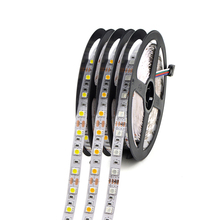 Led Strip Rope Lights SMD 5050 RGB 16.4 Ft 5M 300leds White Flexible Tape Lighting for Bathroom Mirror Ceiling Indoor Home Decor