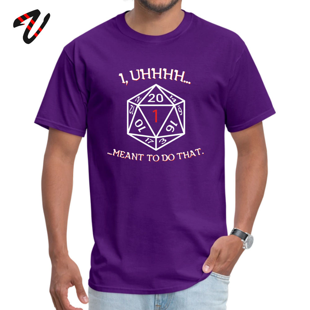 Family 100% Cotton Top T-shirts for Adult Short Sleeve Casual Tops Tees Hip Hop Summer/Autumn Crewneck _black Tops Shirts Casual I meant to do that 6196 purple