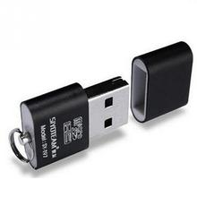 Portable Mini USB 2.0 Micro SD TF T-Flash Memory Card Reader Adapter Flash Drive SD flash memory Wholesale Black
