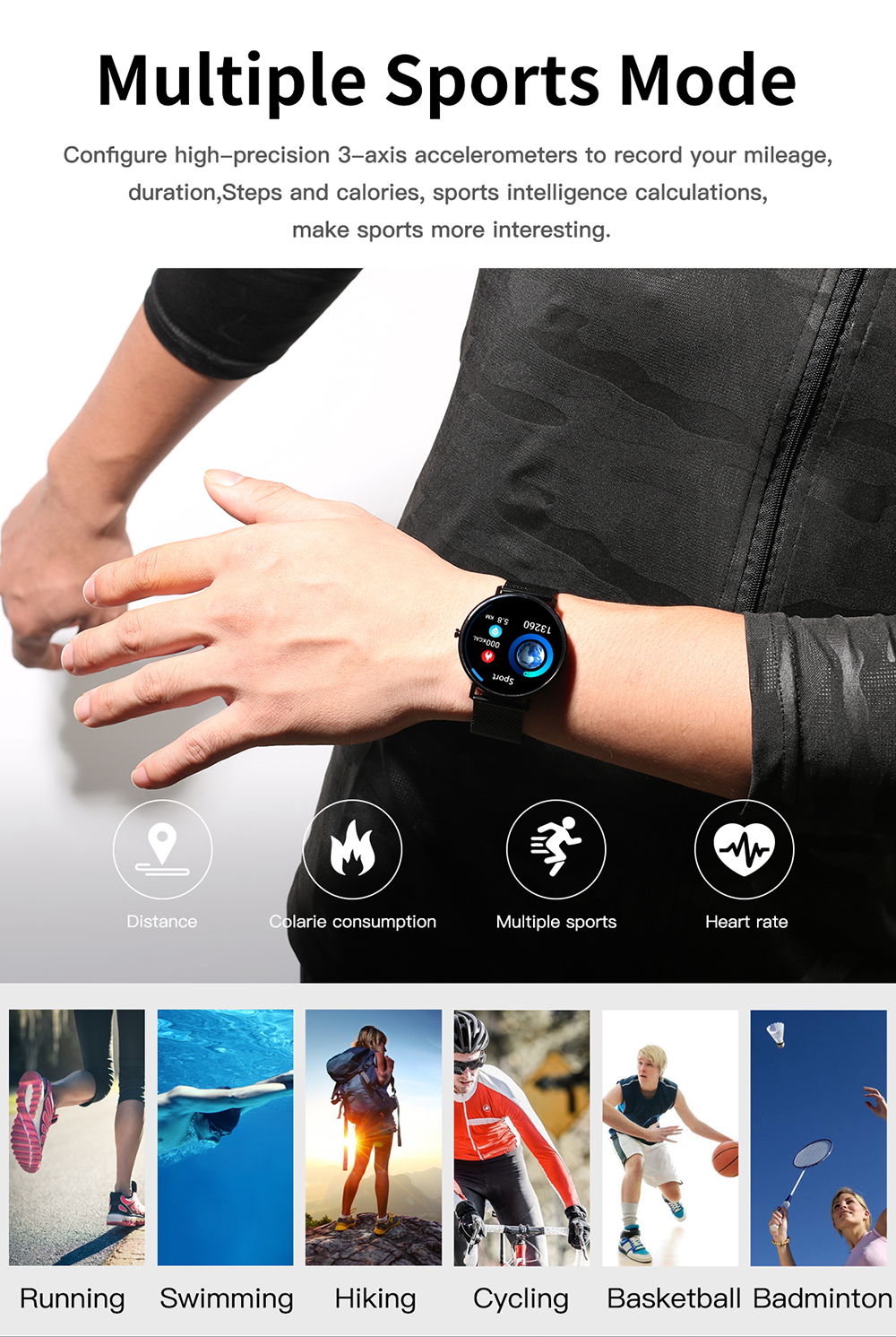 Smart Watch for Swimming 9