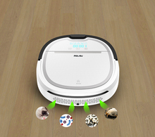 Newest A3 Wet and Dry Robot Vacuum Cleaner for home 750ml dustbin 180ml water tank Self charge Intelligent Vacuum cleaner