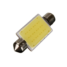 Hot Sale White 41MM 12 Chips COB C5W Car Auto Festoon Dome Interior LED Lights Lamp Map Roof Reading Bulb DC12V