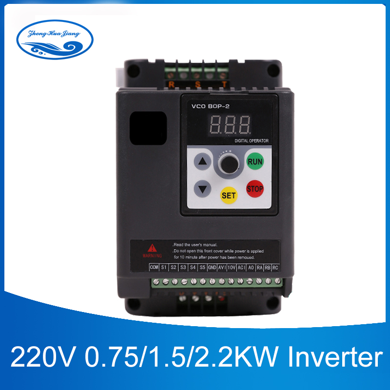 INPUT 1HP-110V OUTPUT 3PH-110V 0.75KW 7A VFD Inverter Frequency converter 400HZ