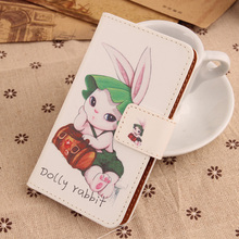 AIYINGE  Colorful Painted PU Leather Cover Magnet Wallet Mobile Phone Case For Argos Alba 4 Inch 3G (2016 version) 4''