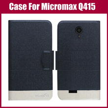 For Micromax Q415 Canvas Pace 4G Case High Quality 5 Colors Fashion Flip Ultra-thin Leather Protective Cover Phone Bag