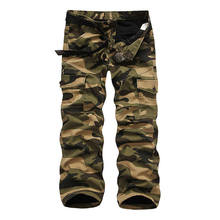 Mens Pants Warm Pants Work Cargo Casual Military Army Cargo Camo Combat Thicken Trousers Winter 0373