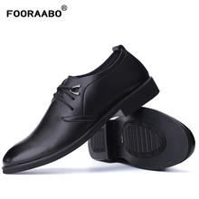 2017 Hot Sell Formal Shoes Leather Men Dress Shoes Fashion Brand Luxury Men's Business Casual Classic Gentleman Shoes Man(China)