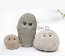 Home and garden decoration natural stone pure hand work stone owl pure hand arts and crafts natural stone crafts