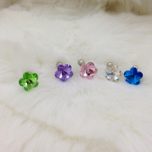 1Pcs Crystal Diamond Dust Plug Universal 3.5mm Cell Phone Earphone Plug For iPhone 6 5s Samsung HTC Sony Headphone Jack Stopper