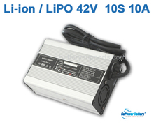 SuPower Li-ion LiPo 10S 36V 37V 42V 10A Lithium Li-Polymer universal Wall Socket Battery Charger auto-stop AC DC Power Supply(China)