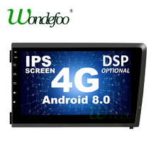 "8 ""4G DSP ips Android 8,0 DVD плеер автомобиля для Volvo S60 V70 XC70 2000 2001 2004 2003 2002 gps навигации радио стерео/Android 8,1(China)"