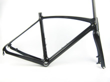 700C Full Carbon Road Racing Disc Bike Frame,Bicycles Caarbon Glossy Finish  50CM 53CM BB86 Seat tube ID27.2/OD31.6mm