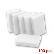 100*60*20mm 100 pcs Magic Sponge Eraser Kitchen Office Bathroom Clean Accessory/Dish Cleaning Melamine sponge nano wholesale