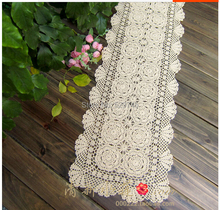 New Handmade Crochet Rectangular Table Runner hot rectangle tablecloth hot Doilies Sofa Cover cloth More size