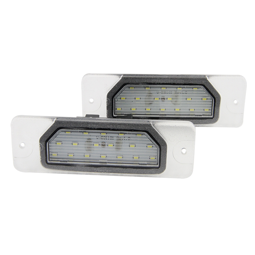 2Pcs 18SMD No Error LED Number License Plate Light Lamp OEM Direct Fit For Infiniti Fx35 Fx45 Q45 I30 I35 Q70 Nissan Fuga Cefiro<br><br>Aliexpress