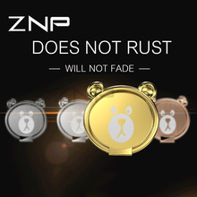 Buy ZNP Universal Mobile Phone Metal Ring Stand iphone X 10 Huawei 360 Degree Finger Ring Holder Accessories Samsung Xiaomi for $3.05 in AliExpress store